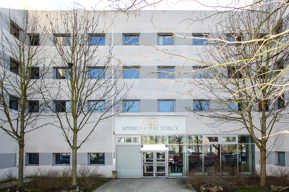 Apparthotel Torcy exterieur